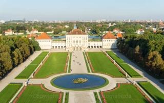 Luftaufnahmen Schlosspark Nymphenburg