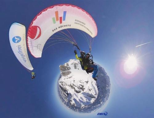 Gleitschirmfliegen am Nebelhorn