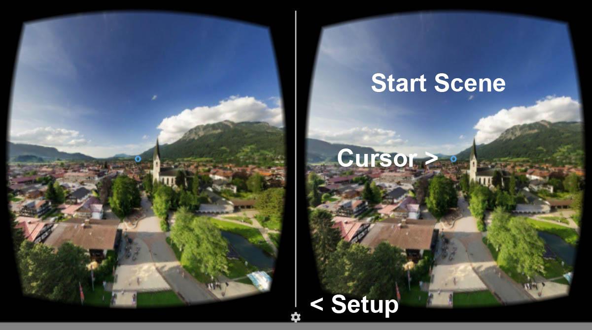 actionVR 360 Grad Video App