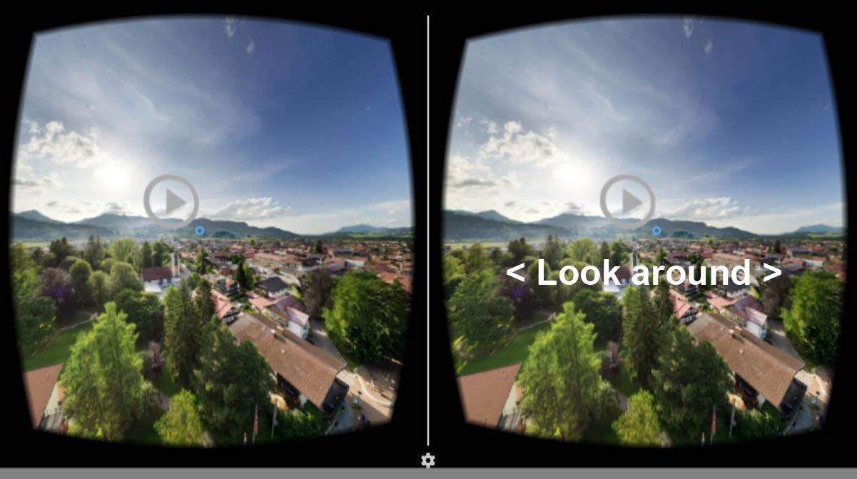 360 grad video app aerofotografie