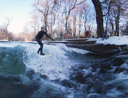 Eisbach Surfer 360°