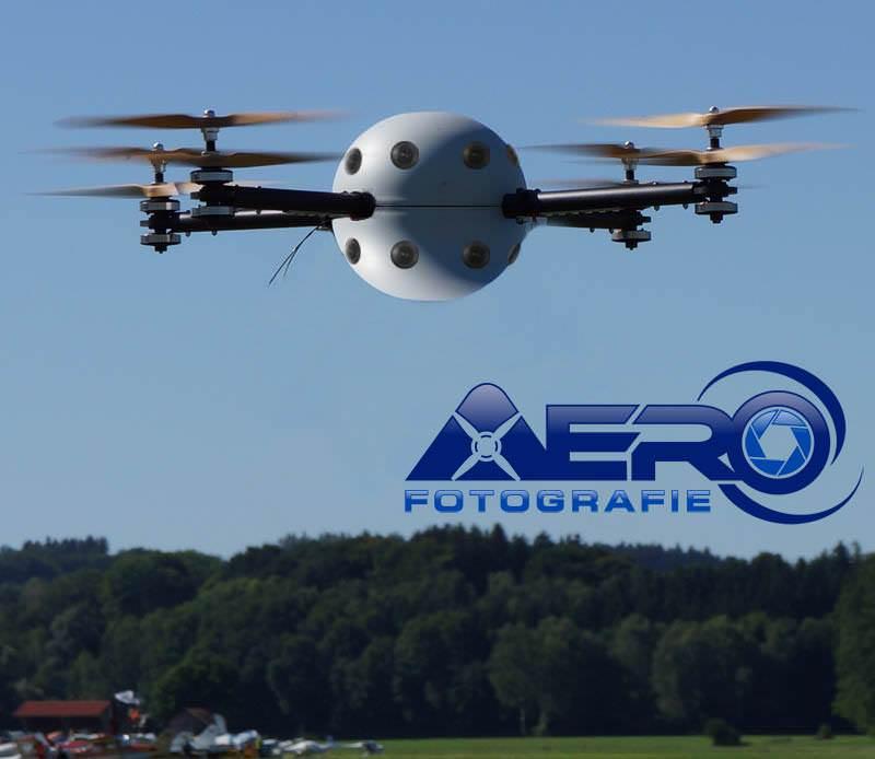Drohne oder Multicopter 360 Grad Video Luftaufnahmen mit Drohnen