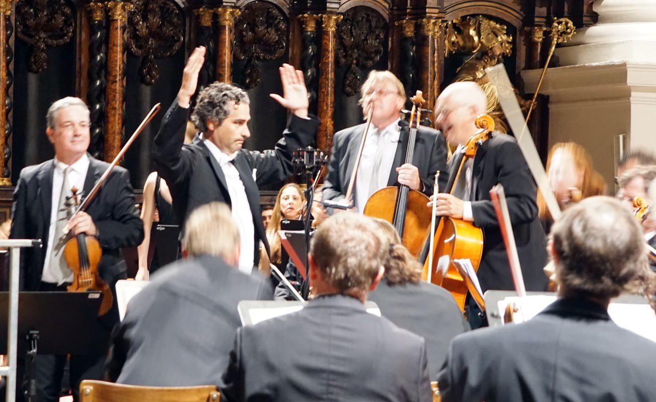SYMPHONIEKONZERT Altomonte Orchester Rémy Ballot 3D 360 video kamera florian stift bruckner festspiele St. Florianer Brucknertage