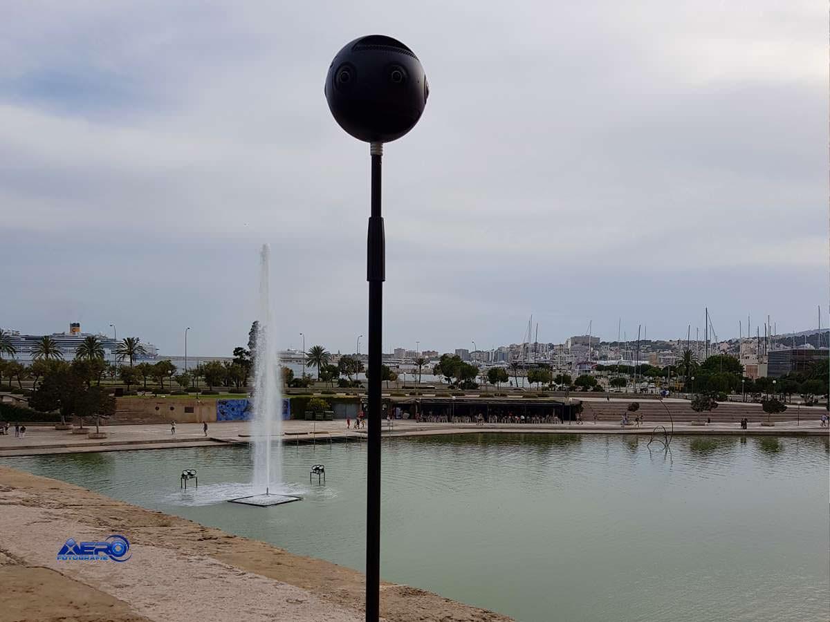 Insta 360 Pro 360° Kamera auf Mallorca