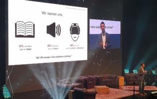 360 Grad Live Stream StartupCon, LANXESS Arena Köln VR Erleben
