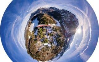 Virtueller Rundgang Winter in Oberstdorf 2018 Heini-Klopfer-Skiflugschanze