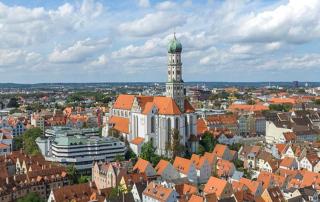 Virtueller Rundgang Augsburg 360 Grad Luftaufnahmen Fugger Stadtrundgang