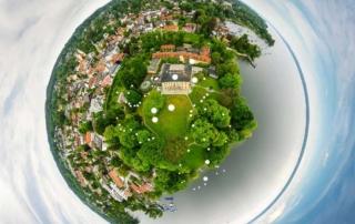 Plant for the Planet luftbild schloss tutzing evangelische akademie Youth Summit luftaufnahme