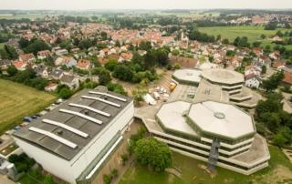 JRK Bezirkswettbewerb Markt Indersdorf Luftaufnahme