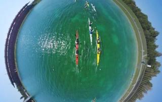 Luftbild Deutsche Kanu-Meisterschaft 2015
