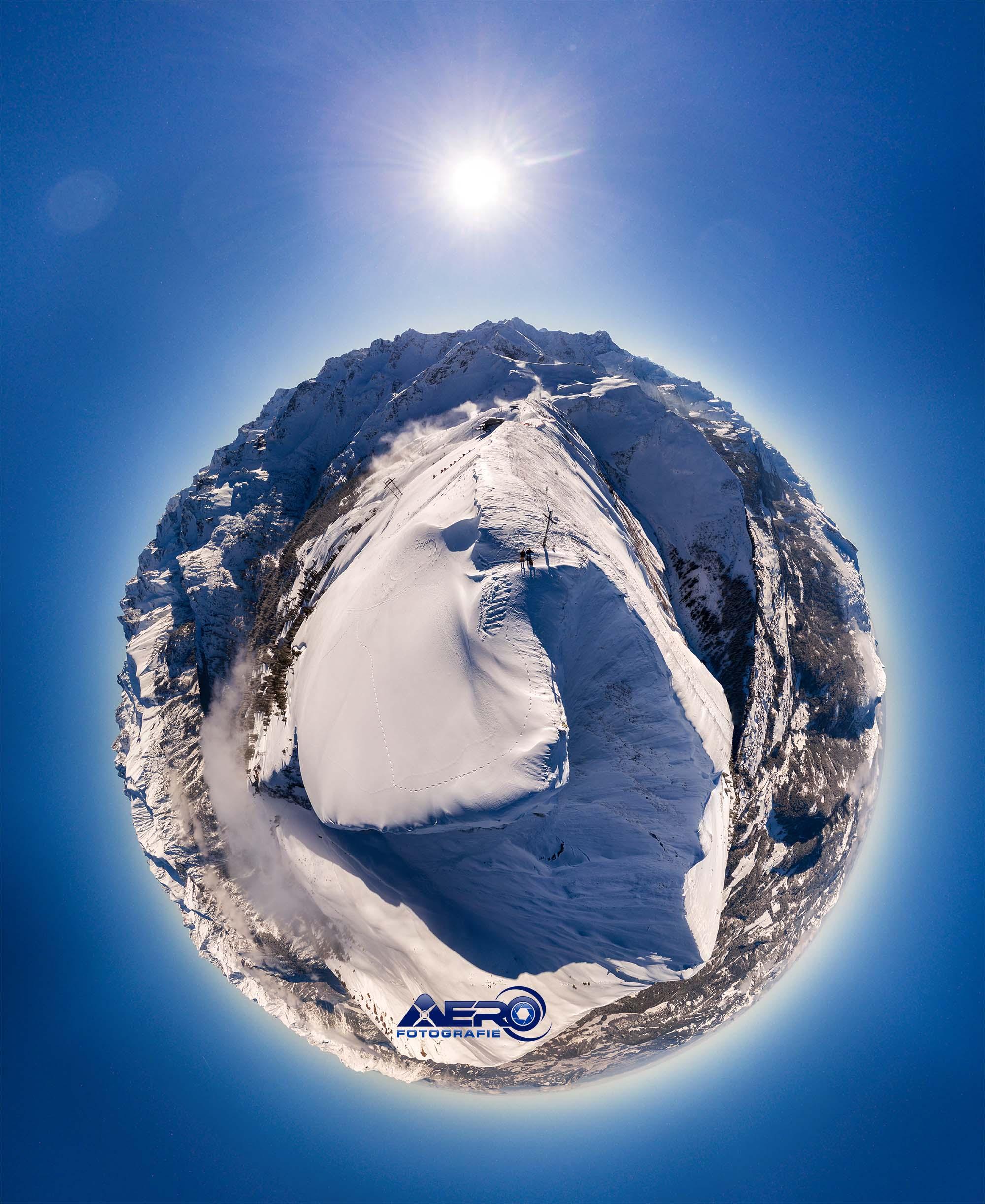 Fellhorn Winter Panorama