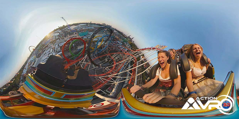 Oktoberfest 360 Grad Video Produktion olympia looping