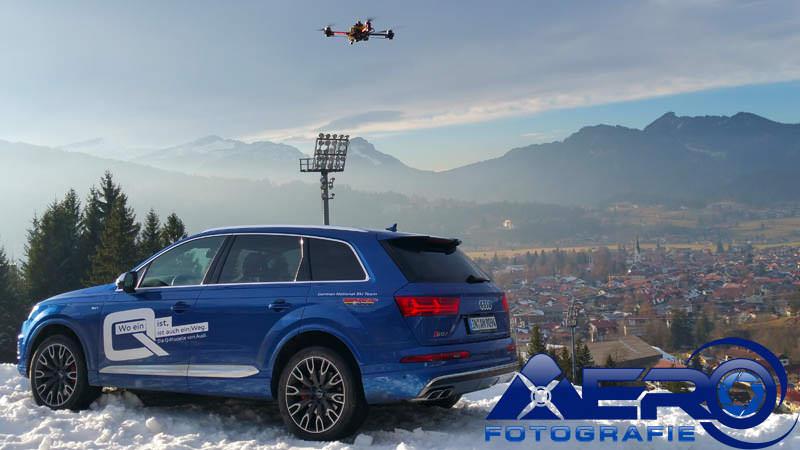 360 grad video drohne luftaufnahmen luftbilder produktion aerofotografie aerial drone audi