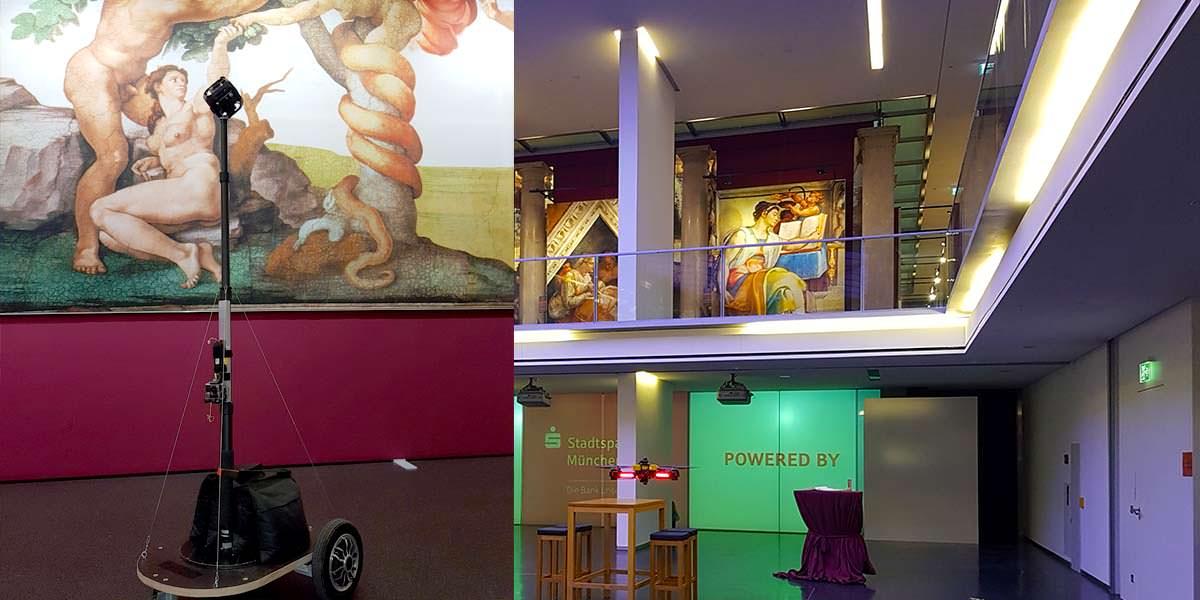vr drohne 360 video aerofotografie sixtinische kapelle muenchen