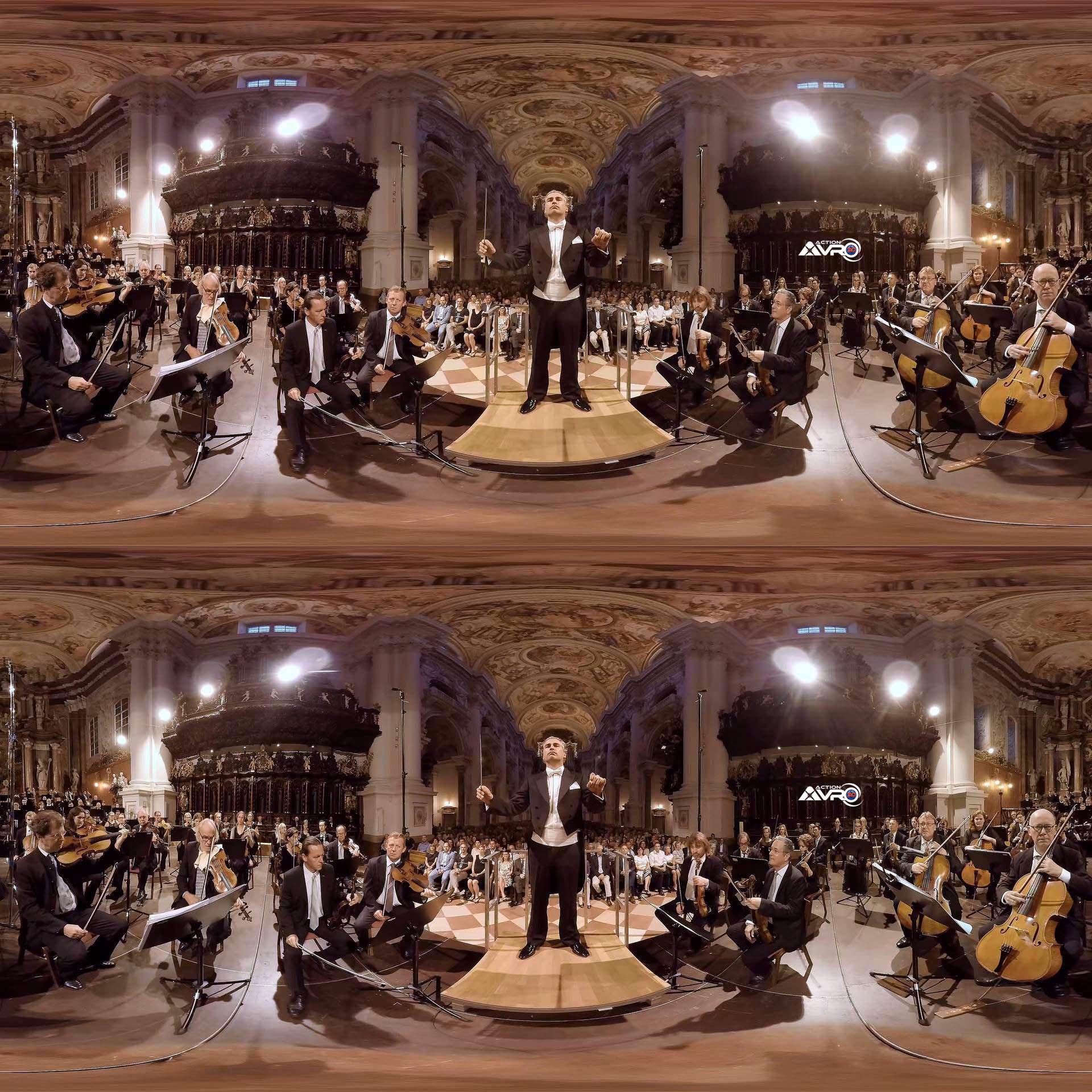 Bruckner Symphonie #5 Remy Ballot 3D 360 Video Aufnahme spatial ambisonic ambeo audio www.aerofotografie.de