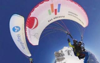 Nebelhorn Gleitschirmflug Simulator Flug Oberstdorf 360 Grad Video