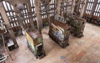 Luftbild Photogrammetrie Rekonstruktion Kirche Museen Fassaden