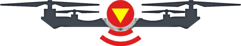 Photogrammetrie-Drohne