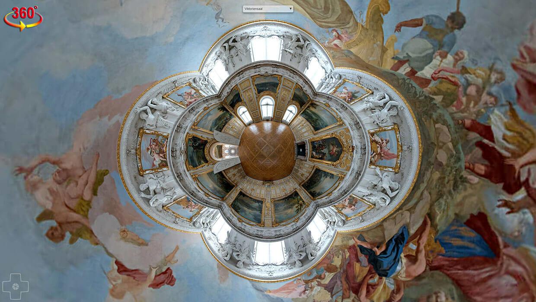 Virtueller Rundgang Neues Schloss Schleißheim Viktoriensaal