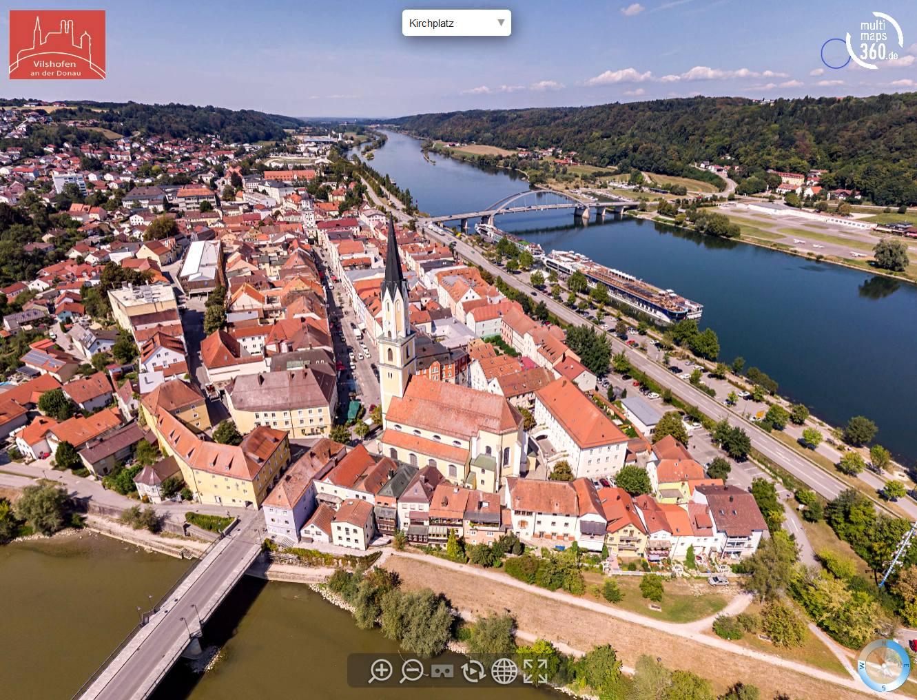 Panorama Touren und virtuelle Rundgänge, Drohnen Luftbild